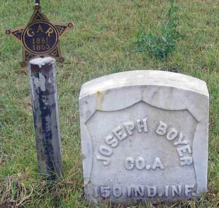 BOYER, JOSEPH H. - Dundy County, Nebraska | JOSEPH H. BOYER - Nebraska Gravestone Photos