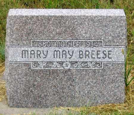 COLICOTT BREESE, MARY MAY - Dundy County, Nebraska | MARY MAY COLICOTT BREESE - Nebraska Gravestone Photos
