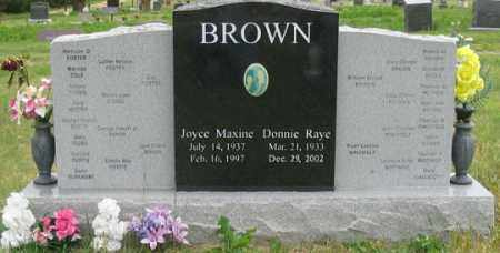FOSTER BROWN, JOYCE MAXINE - Dundy County, Nebraska | JOYCE MAXINE FOSTER BROWN - Nebraska Gravestone Photos
