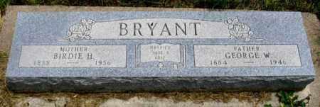 CONKLIN BRYANT, BIRDIE H. - Dundy County, Nebraska | BIRDIE H. CONKLIN BRYANT - Nebraska Gravestone Photos