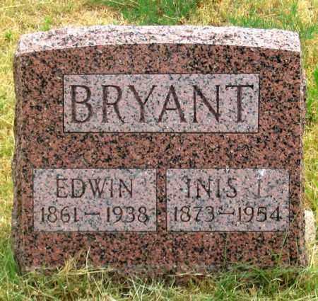 BRYANT, JOHN EDWIN - Dundy County, Nebraska | JOHN EDWIN BRYANT - Nebraska Gravestone Photos