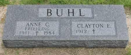 BUHL, ANNE CLARA - Dundy County, Nebraska | ANNE CLARA BUHL - Nebraska Gravestone Photos