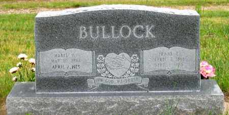 BULLOCK, MABEL M. - Dundy County, Nebraska | MABEL M. BULLOCK - Nebraska Gravestone Photos
