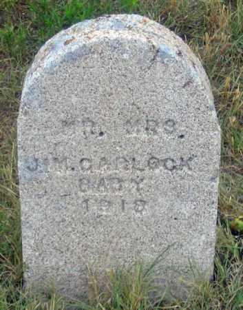 CARLOCK, BABY 1918 - Dundy County, Nebraska | BABY 1918 CARLOCK - Nebraska Gravestone Photos