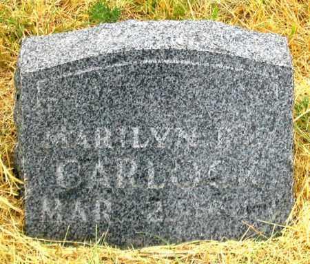 CARLOCK, MARILYN RAY - Dundy County, Nebraska | MARILYN RAY CARLOCK - Nebraska Gravestone Photos