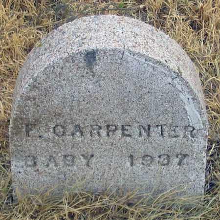 CARPENTER, F. - Dundy County, Nebraska   F. CARPENTER - Nebraska Gravestone Photos
