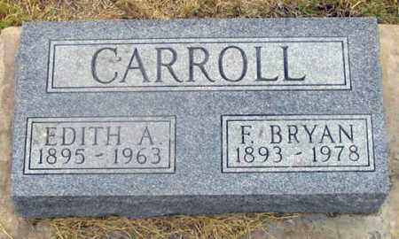 CARROLL, EDITH ADELINE - Dundy County, Nebraska | EDITH ADELINE CARROLL - Nebraska Gravestone Photos