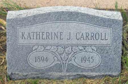 CARROLL, KATHERINE JANE - Dundy County, Nebraska | KATHERINE JANE CARROLL - Nebraska Gravestone Photos