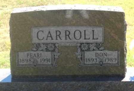 CARROLL, DONALD Q. - Dundy County, Nebraska | DONALD Q. CARROLL - Nebraska Gravestone Photos
