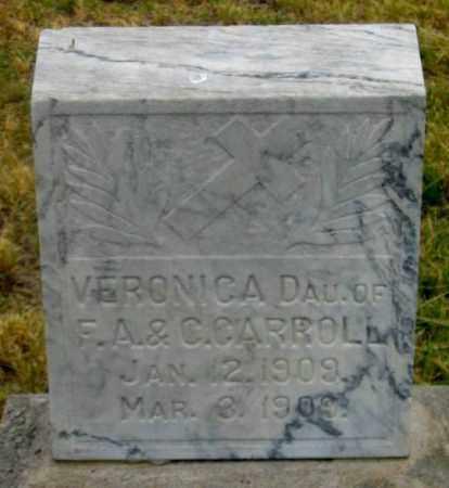 CARROLL, VALDA VERONICA - Dundy County, Nebraska | VALDA VERONICA CARROLL - Nebraska Gravestone Photos