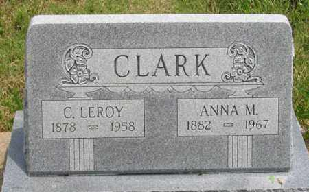 STASTNEY CLARK, ANNA M. - Dundy County, Nebraska | ANNA M. STASTNEY CLARK - Nebraska Gravestone Photos