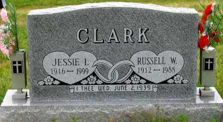 REED CLARK, JESSIE I. - Dundy County, Nebraska   JESSIE I. REED CLARK - Nebraska Gravestone Photos