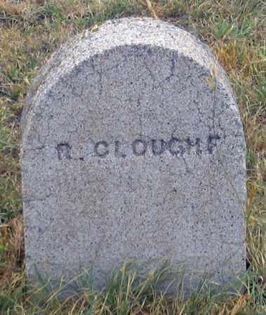 CLOUGH, R. - Dundy County, Nebraska | R. CLOUGH - Nebraska Gravestone Photos