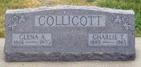 COLLICOTT, CHARLES THOMAS - Dundy County, Nebraska | CHARLES THOMAS COLLICOTT - Nebraska Gravestone Photos
