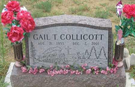 COLLICOTT, GAIL (GALE?) T. - Dundy County, Nebraska | GAIL (GALE?) T. COLLICOTT - Nebraska Gravestone Photos