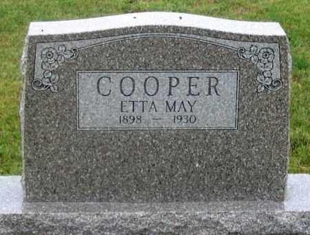 COOPER, ETTA MAY - Dundy County, Nebraska | ETTA MAY COOPER - Nebraska Gravestone Photos