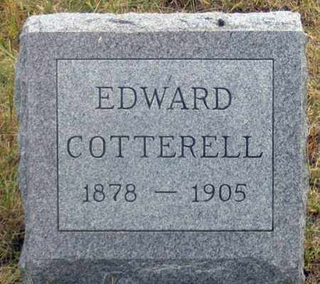 COTTERELL, EDWARD CHARLES - Dundy County, Nebraska | EDWARD CHARLES COTTERELL - Nebraska Gravestone Photos