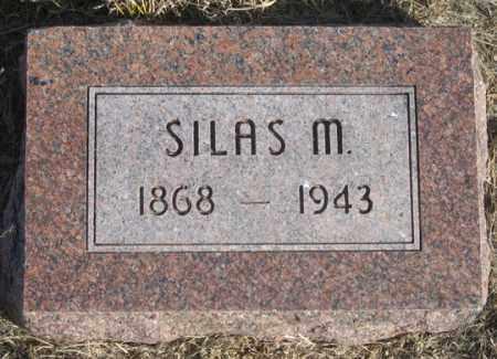 COX, SILAS M. - Dundy County, Nebraska | SILAS M. COX - Nebraska Gravestone Photos