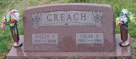 MYER/FRIEZEN CREACH, EVELYN F. - Dundy County, Nebraska | EVELYN F. MYER/FRIEZEN CREACH - Nebraska Gravestone Photos