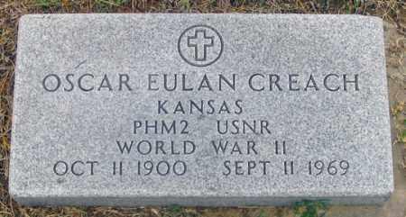 CREACH, OSCAR EULAN - Dundy County, Nebraska   OSCAR EULAN CREACH - Nebraska Gravestone Photos