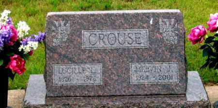 CROUSE, LUCILLE - Dundy County, Nebraska | LUCILLE CROUSE - Nebraska Gravestone Photos