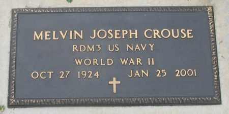 CROUSE, MELVIN JOSEPH - Dundy County, Nebraska   MELVIN JOSEPH CROUSE - Nebraska Gravestone Photos