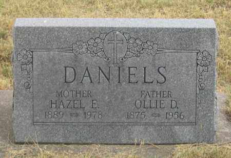 DANIELS, HAZEL EDITH - Dundy County, Nebraska | HAZEL EDITH DANIELS - Nebraska Gravestone Photos