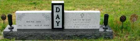 DAY, IRENE - Dundy County, Nebraska | IRENE DAY - Nebraska Gravestone Photos