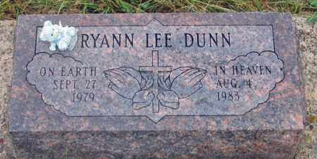 DUNN, RYANN LEE - Dundy County, Nebraska | RYANN LEE DUNN - Nebraska Gravestone Photos