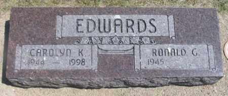 MATHEWS EDWARDS, CAROLYN K. - Dundy County, Nebraska | CAROLYN K. MATHEWS EDWARDS - Nebraska Gravestone Photos
