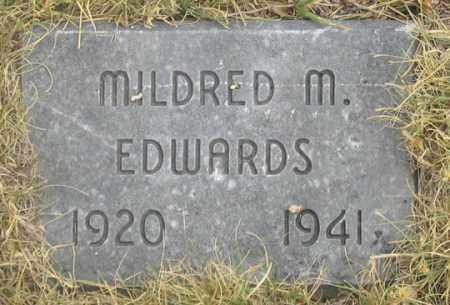 SMITH EDWARDS, MILDRED MARIE - Dundy County, Nebraska | MILDRED MARIE SMITH EDWARDS - Nebraska Gravestone Photos