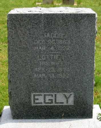 BEATTIE EGLY, LOTTIE IMOGENE - Dundy County, Nebraska | LOTTIE IMOGENE BEATTIE EGLY - Nebraska Gravestone Photos