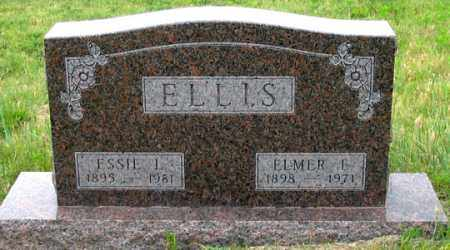 ELLIS, ESSIE L. - Dundy County, Nebraska | ESSIE L. ELLIS - Nebraska Gravestone Photos