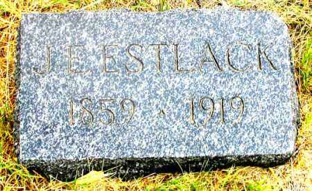 ESTLACK, JAMES EDWARD - Dundy County, Nebraska | JAMES EDWARD ESTLACK - Nebraska Gravestone Photos
