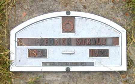 FREDERICK, STRAUB - Dundy County, Nebraska | STRAUB FREDERICK - Nebraska Gravestone Photos