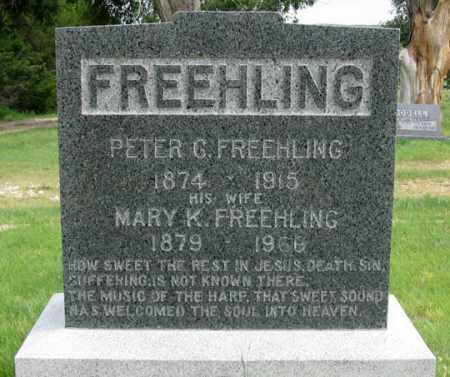 FREEHLING, PETER G. - Dundy County, Nebraska | PETER G. FREEHLING - Nebraska Gravestone Photos