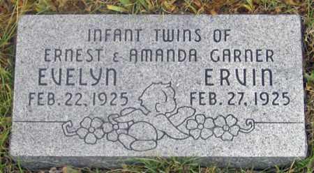 GARNER, ERVIN (SON) - Dundy County, Nebraska   ERVIN (SON) GARNER - Nebraska Gravestone Photos