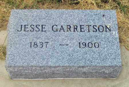 GARRETSON, JESSE - Dundy County, Nebraska | JESSE GARRETSON - Nebraska Gravestone Photos