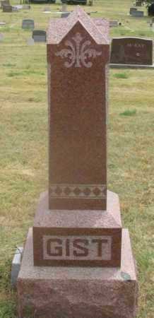 GIST FAMILY, HEADSTONE - Dundy County, Nebraska | HEADSTONE GIST FAMILY - Nebraska Gravestone Photos