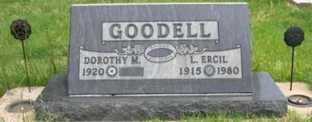 GOODELL, DOROTHY M. - Dundy County, Nebraska | DOROTHY M. GOODELL - Nebraska Gravestone Photos