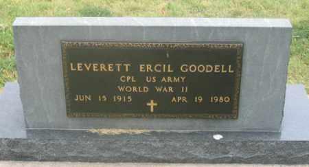GOODELL, LEVERETT ERCIL - Dundy County, Nebraska | LEVERETT ERCIL GOODELL - Nebraska Gravestone Photos