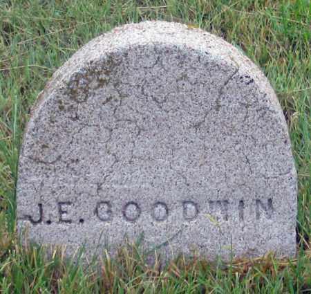 GOODWIN, J. E. - Dundy County, Nebraska   J. E. GOODWIN - Nebraska Gravestone Photos
