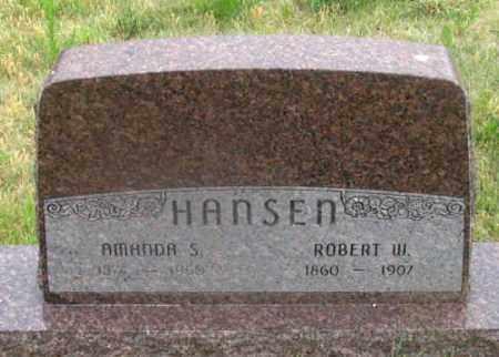 HANSEN, AMANDA S. - Dundy County, Nebraska | AMANDA S. HANSEN - Nebraska Gravestone Photos