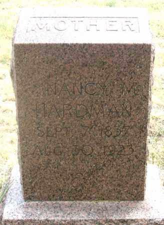 GIFFORD HARDMAN, NANCY M. - Dundy County, Nebraska | NANCY M. GIFFORD HARDMAN - Nebraska Gravestone Photos