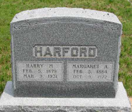 HARFORD, MARGARET A. - Dundy County, Nebraska   MARGARET A. HARFORD - Nebraska Gravestone Photos