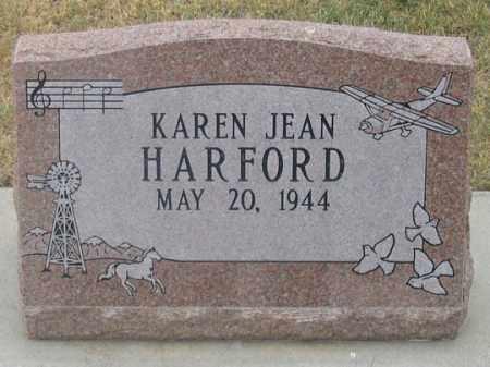 HARFORD, KAREN JEAN - Dundy County, Nebraska | KAREN JEAN HARFORD - Nebraska Gravestone Photos