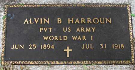 HARROUN, ALVIN B. - Dundy County, Nebraska | ALVIN B. HARROUN - Nebraska Gravestone Photos