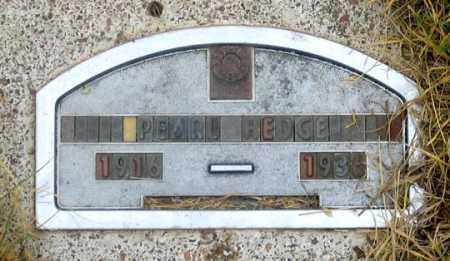 HEDGE, PEARL - Dundy County, Nebraska | PEARL HEDGE - Nebraska Gravestone Photos