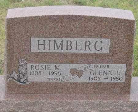 HIMBERG, ROSIE M. - Dundy County, Nebraska | ROSIE M. HIMBERG - Nebraska Gravestone Photos