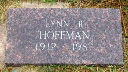 HOFFMAN, LYNN R. - Dundy County, Nebraska | LYNN R. HOFFMAN - Nebraska Gravestone Photos